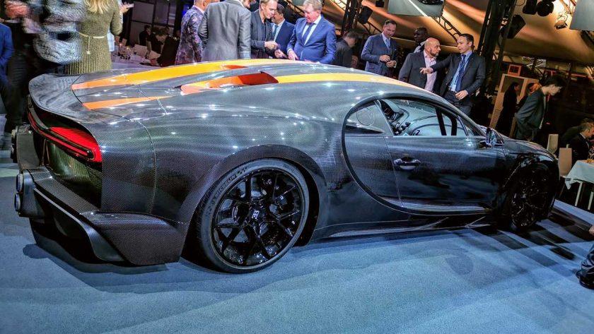 Bugatti Chiron Super Sport 300+ backside
