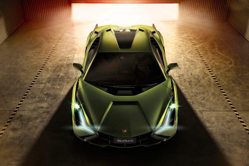 Lamborghini Sian arriba