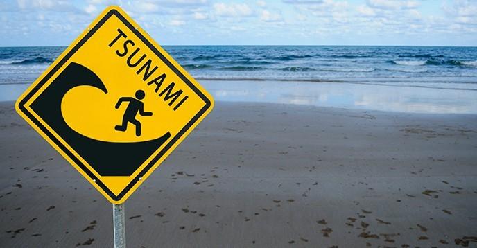 falsa alerta de tsunami