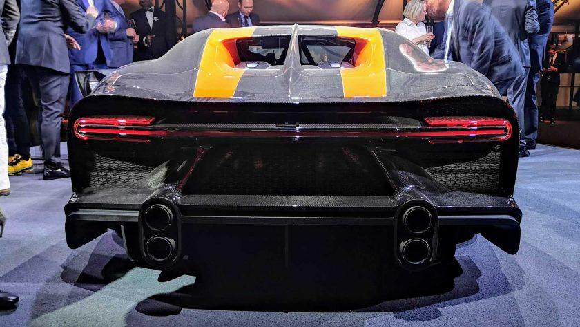 Bugatti Chiron Super Sport 300+ back