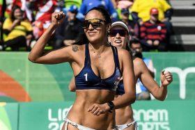 Voleibolista chilena