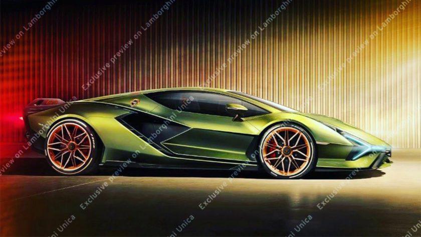 Filtración Lamborghini Sian