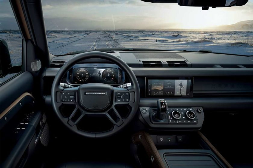 Land Rover 2020 Defender interior