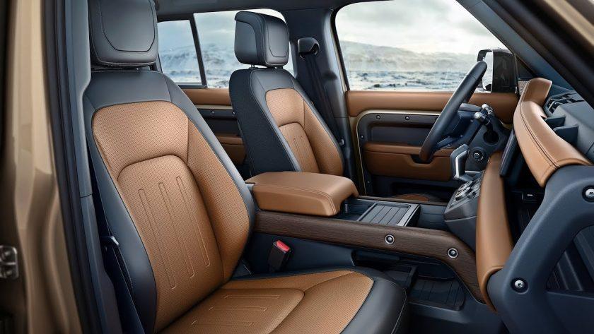 Land Rover 2020 Defender interior