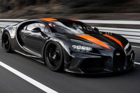 Bugatti Chiron record de velocidad