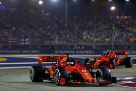 Vettel ganó GP de Singapur