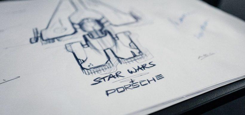 Nave espacial Porsche Star Wars