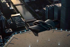Auto volador Porsche Boeing