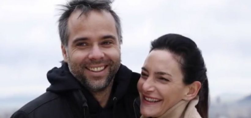 Fernando González y Luciana Aymar