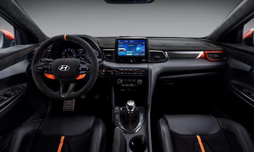 Veloster N Performance Concept interior