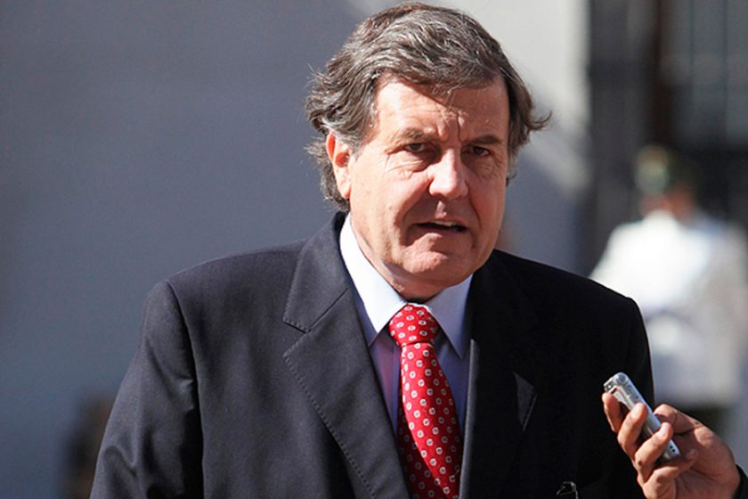 Patricio Melero, Ministro del Trabajo.