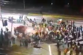 atropello a manifestantes
