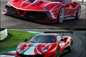 Ferrari 488 GT3 Evo y 488 Challenge Evo