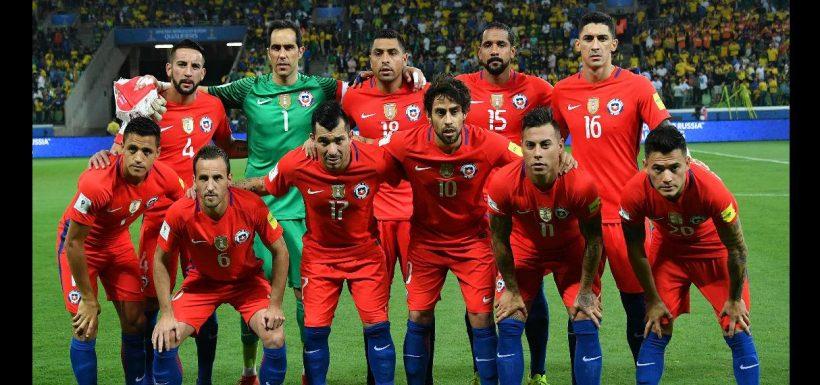 nómina de la Selección Chilena
