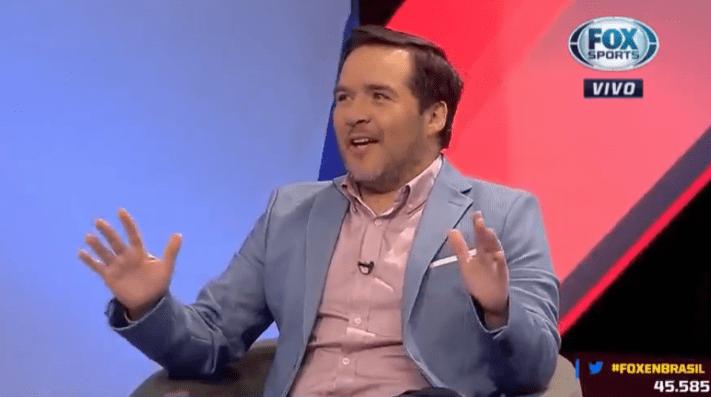 Periodista de Fox Sports Chile en llamas en contra de la ANFP
