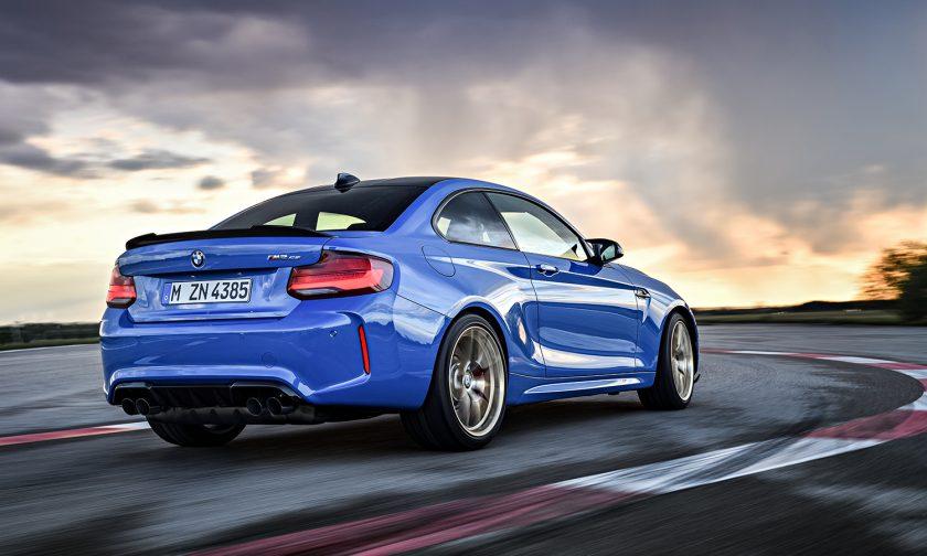 BMW M2 CS back