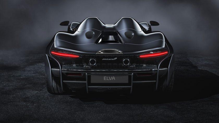 McLaren Elva back