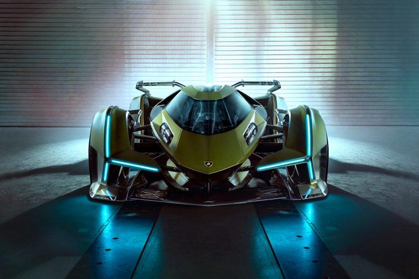 Lambo V12 Vision Gran Turismo front