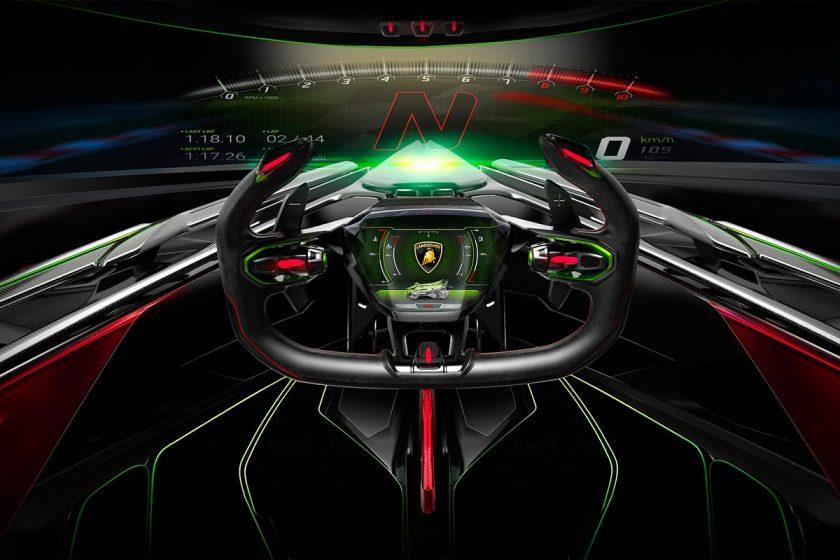 Lambo V12 Vision Gran Turismo interior