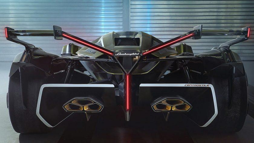 Lambo V12 Vision Gran Turismo back