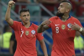 fixture de la Selección Chilena
