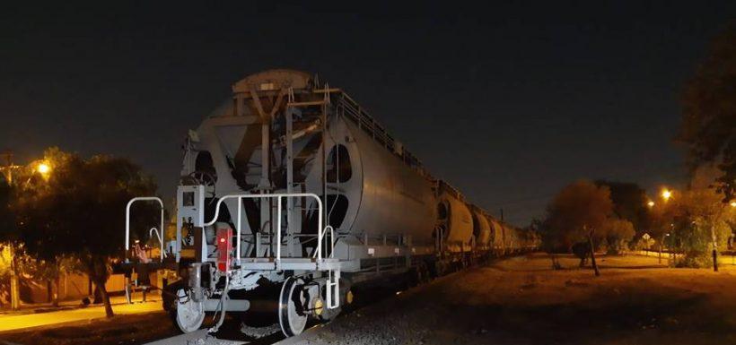 Accidente ferroviario en Cerrillos