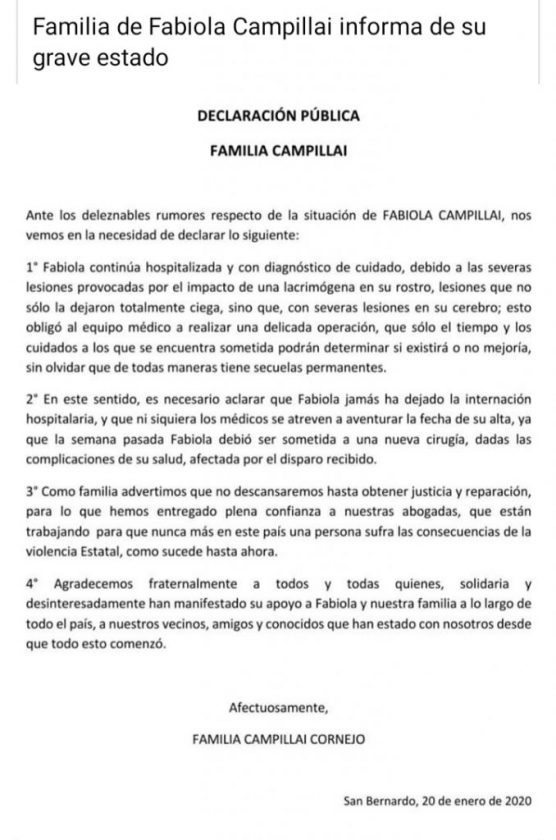 Fabiola Campillai