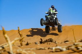 Chilenos quads Dakar