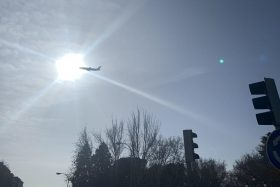 avión con grave emergencia