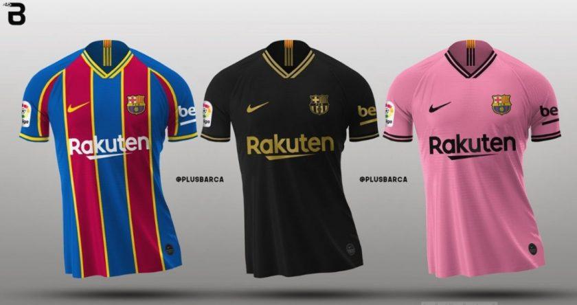 nuevas camisetas del Barcelona