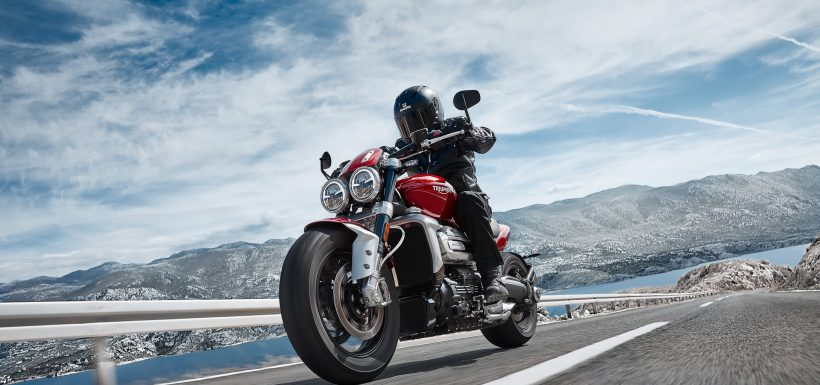 Triumph Rocket 3R récord aceleración