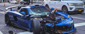 Gemballa Mirage GT choque