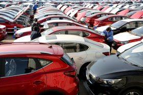 Wuhan ventas de autos