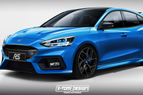 Render Ford Focus RS mk4