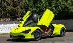 McLaren 720S incautado por Carabineros