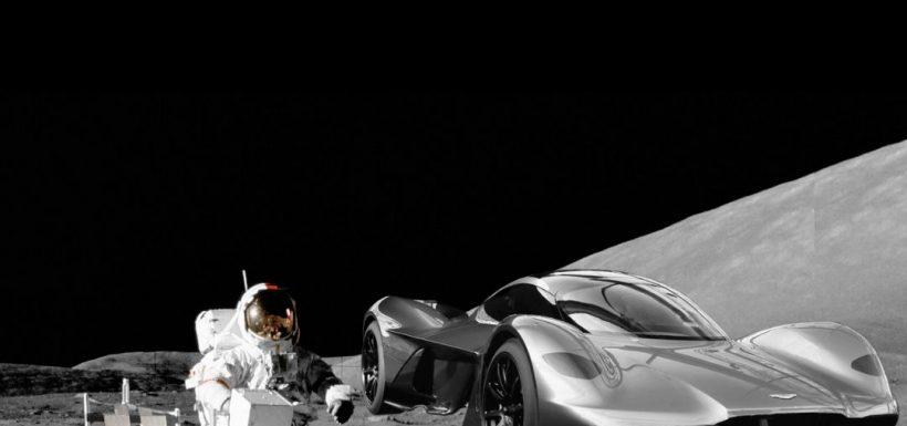 Carrera de autos luna