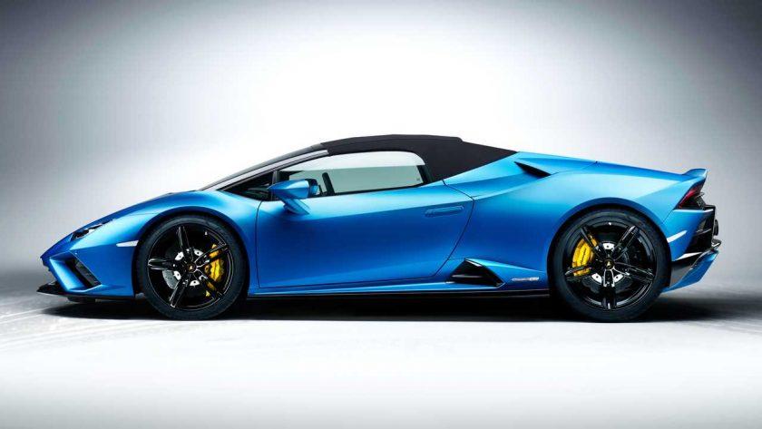 Lamborghini Huracan Evo RWD Spyder side