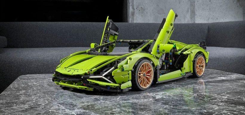 Lamborghini Sian Lego Technic