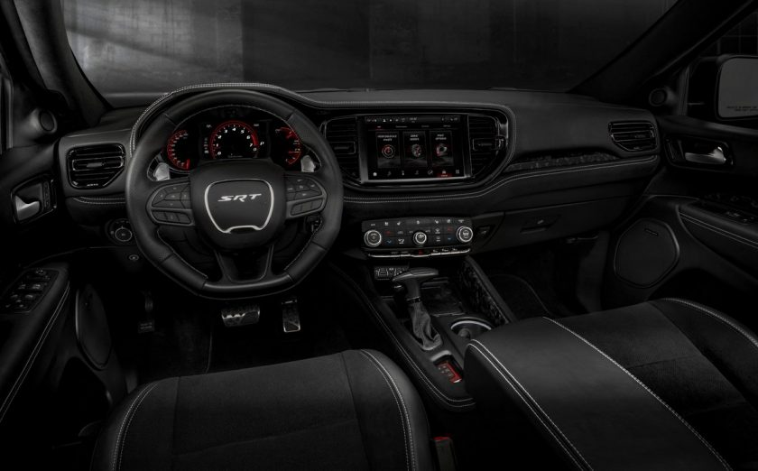 Dodge Durango SRT Hellcat interior