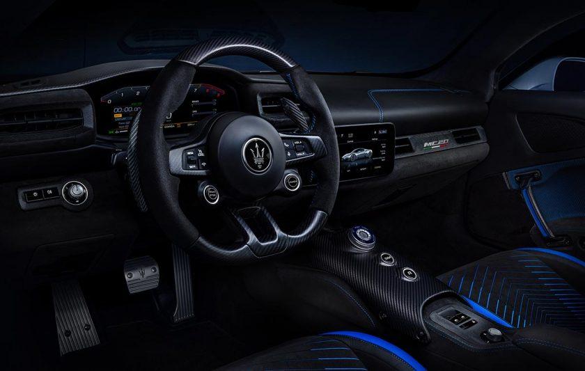Maserati MC20 interior