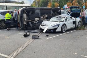 McLaren choque
