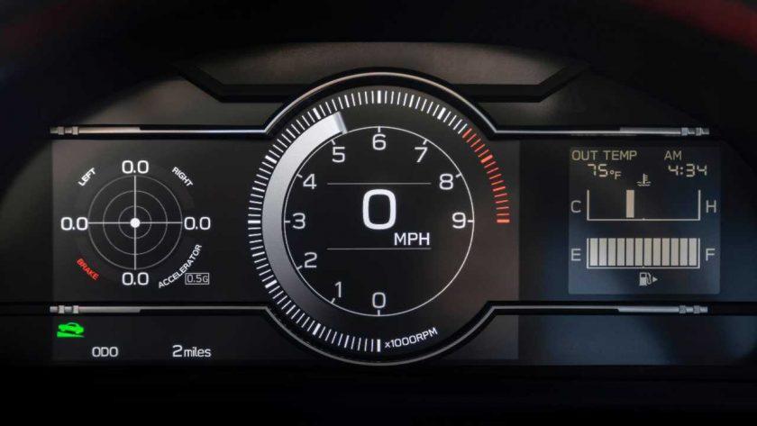 Subaru BRZ interior