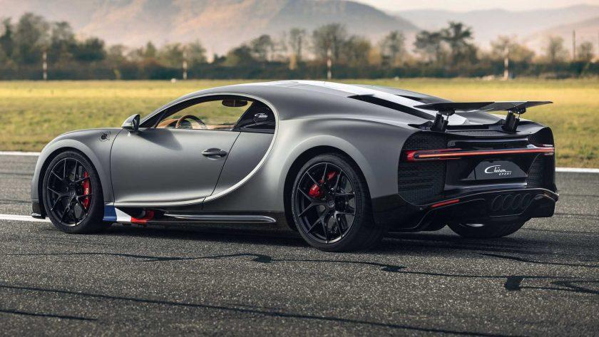 Bugatti Chiron Sport Les Legends du Ciel