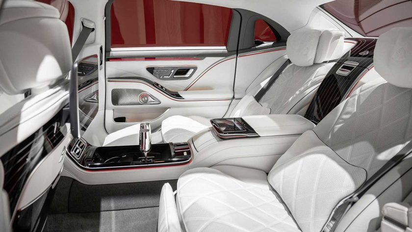 Mercedes-Maybach Clase S interior