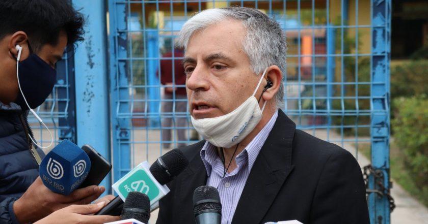 Carlos Díaz, presidente del Colegio de Profesores.