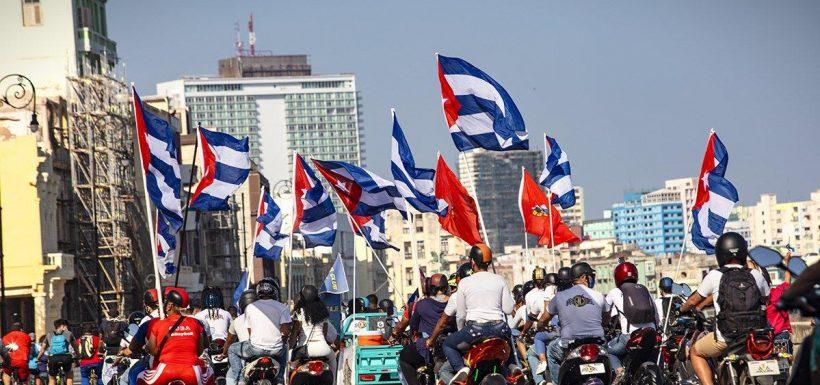El PC respaldó al Gobierno de Cuba.