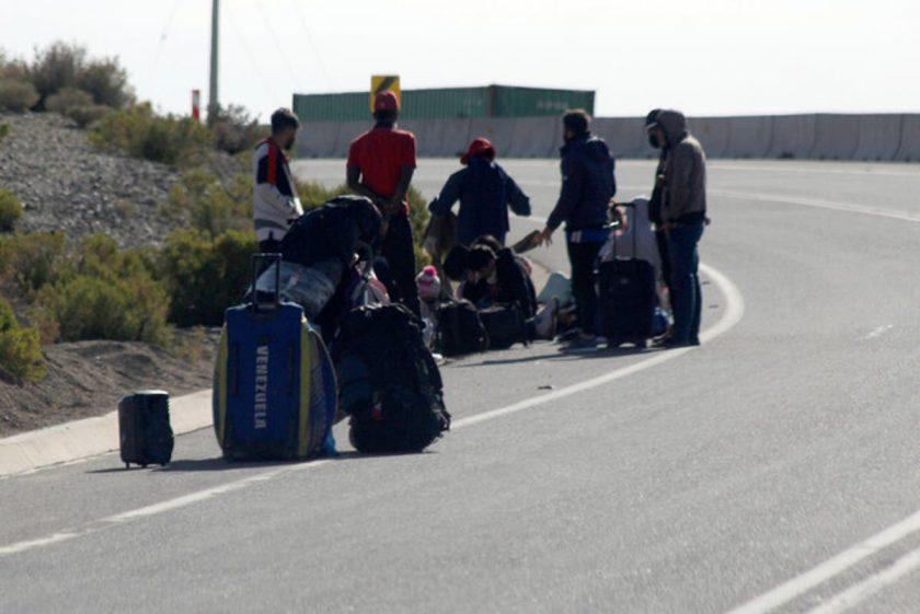 La migrante falleció por las condiciones extremas de frío.