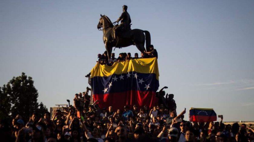 Venezolanos en Chile.