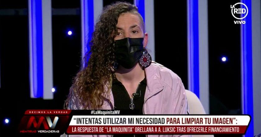 Macarena Orellana rechazó la ayuda de Luksic.
