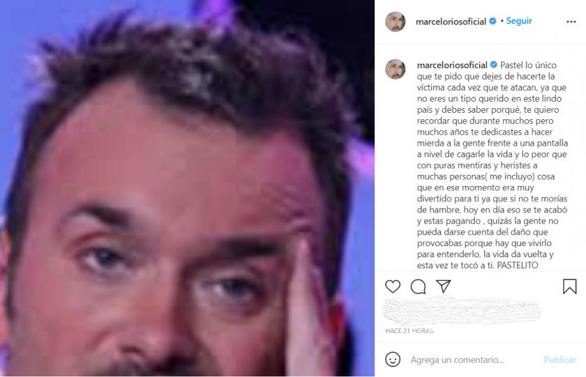 Marcelo Ríos se lanzó contra Jordi.